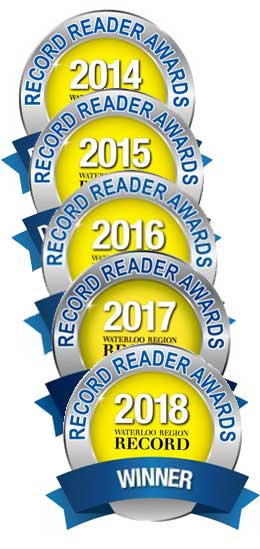 Kitchener Record readers awards