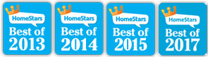image of multiple awards for best duct cleaning company